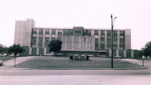 This photograph shows the Union County General Hospital soon after it opened in 1966. The 65-bed hospital was built by the Union County Board of Supervisors with the help of the 1946 Hill-Burton Act Photo: Union Co. Heritage Museum