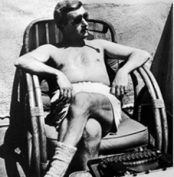 William Faulkner. There MUST have been a Mint Julep just out of sight of the camera.