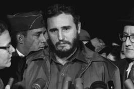 Fidel Castro in Washington in 1959