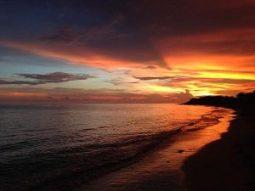 A spectacular Cuban sunset
