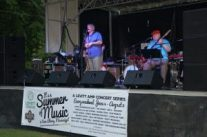The Dukes, a local band originally formed in the 1960s were the opening act for the first Levitt AMP concert. They received limited national attention fifty years ago and have continued popular locally through the decades.