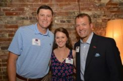 Keith Carter, Mary Catherine Shands (Union County Ole Miss Club President), Ross Bjork (Ole Miss Athletic Director) Photo: Dr. Danny Dickey