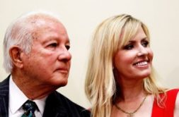 "Edwin Edwards and wife, Trina. ""Well, Marion, if she dies, she dies."""