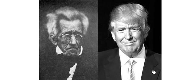 Andrew Jackson, Donald Trump