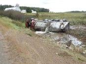 milk tanker spill