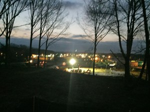 Hilltop view of New Albany