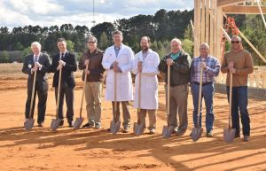 Baptist Hospital VIPs at IM&PC groundbreaking