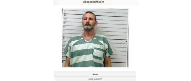 Alleged rapist Louis Winston Scott