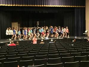 Cinderella practice, Union County Theater Program
