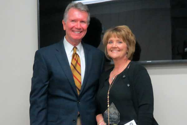 New Albany High School teacher of year