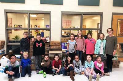 NAES food drive