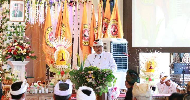 Wakil Gubernur Bali Menghadiri Mahasabha IV Dharmopadesa 2019