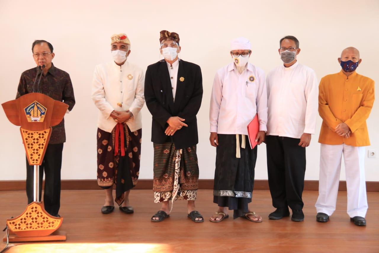 Guna Kebaikan Bersama: Sikapi Lonjakan Kasus Covid-19 Di Bali, PHDI, MDA dan FKUB Terbitkan Surat Edaran (SE) Bersama