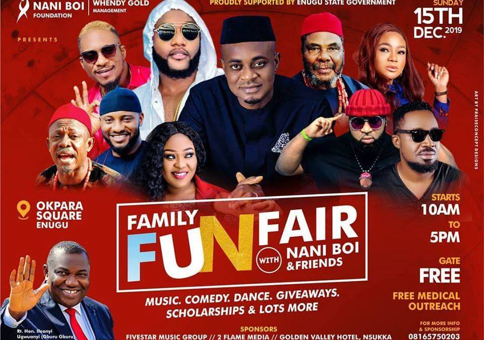VANGUARD: PETE EDOCHIE, KCEE, NKEM OWO OTHER TOP CELEBRITIES TO GRACE FAMILY FUN FAIR WITH NANI BOI AND FRIENDS