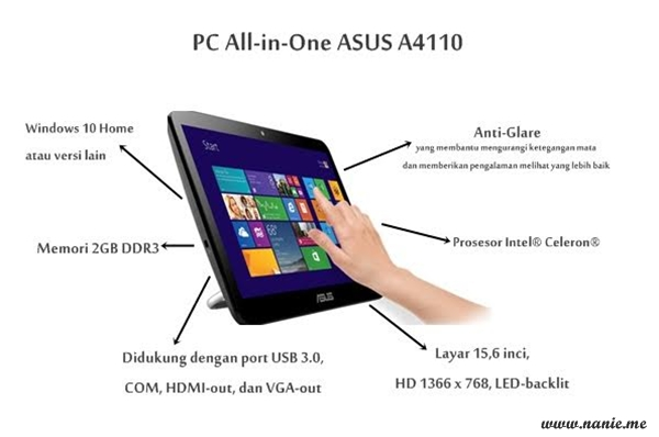 Infografis ASUSPRO a4110