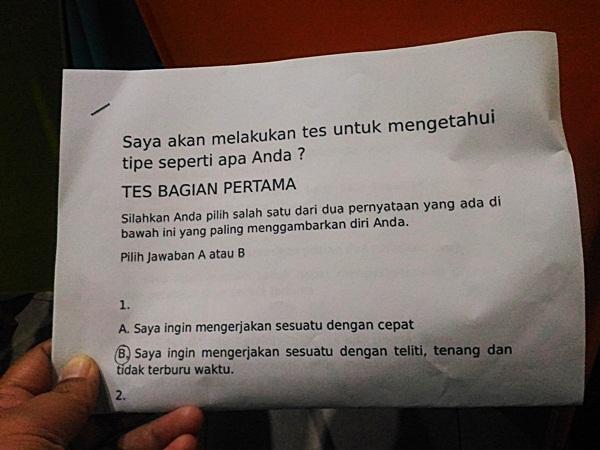 sesi sharing MOMENT Makassar