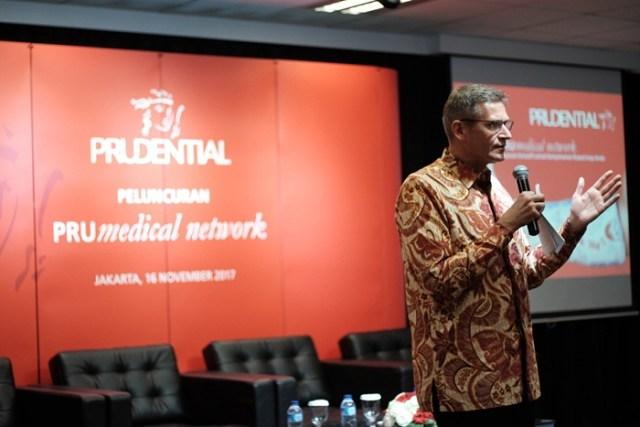 Jens Reisch, President Director, Prudential Indonesia