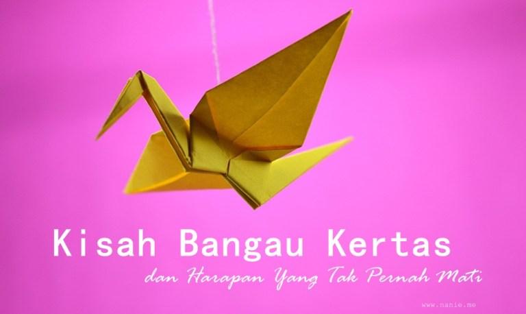 origami bangau kertas