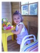 Alicia, 14 mois à son arrivée en septembre 2010 à novembre 2012.