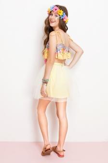 fantasia havaiana dress to