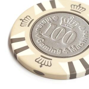 カジノチップ100