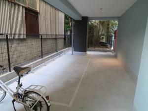 グランパシフィック難波西:駐輪場