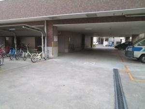 クレド桜川:駐車場
