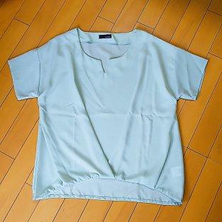 Rcawaii(アールカワイイ)から届いた服。ミントグリーンのトップス