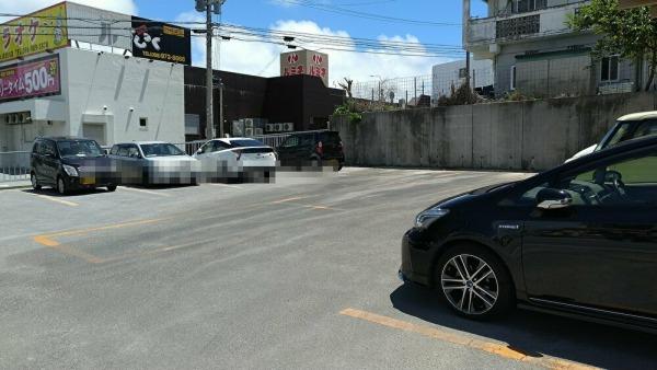 うちなー食堂コザ飯 駐車場