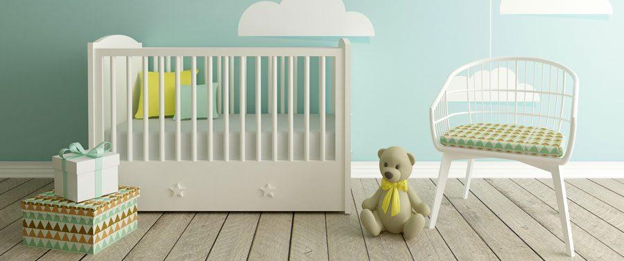 Colores para decorar la habitación de tu bebé