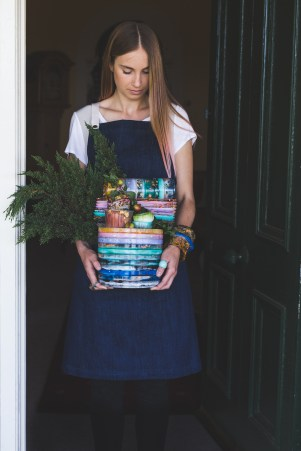Homewares - colourful stack