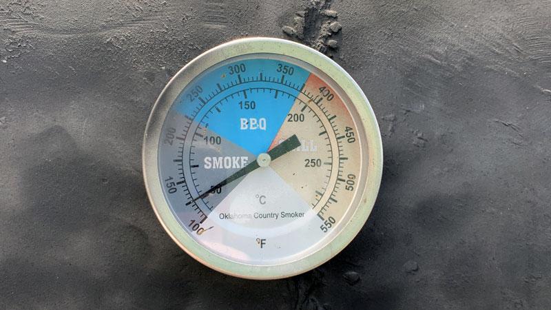 Gewoan Lekker - Smoker BBQ Thermometer