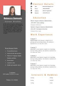 2018 RESUME TEMPLATE pdf Resume Coaching