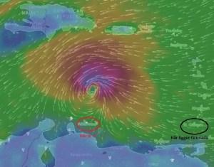 Stormen: Enligt prognos för torsdagskvällen