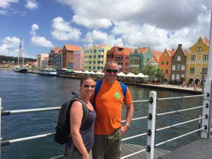 På tur inne i Willemstad