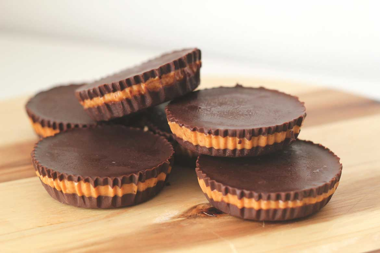 Healthy-chocolade-pindakaas-snack