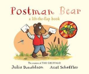 cover of postman bear book