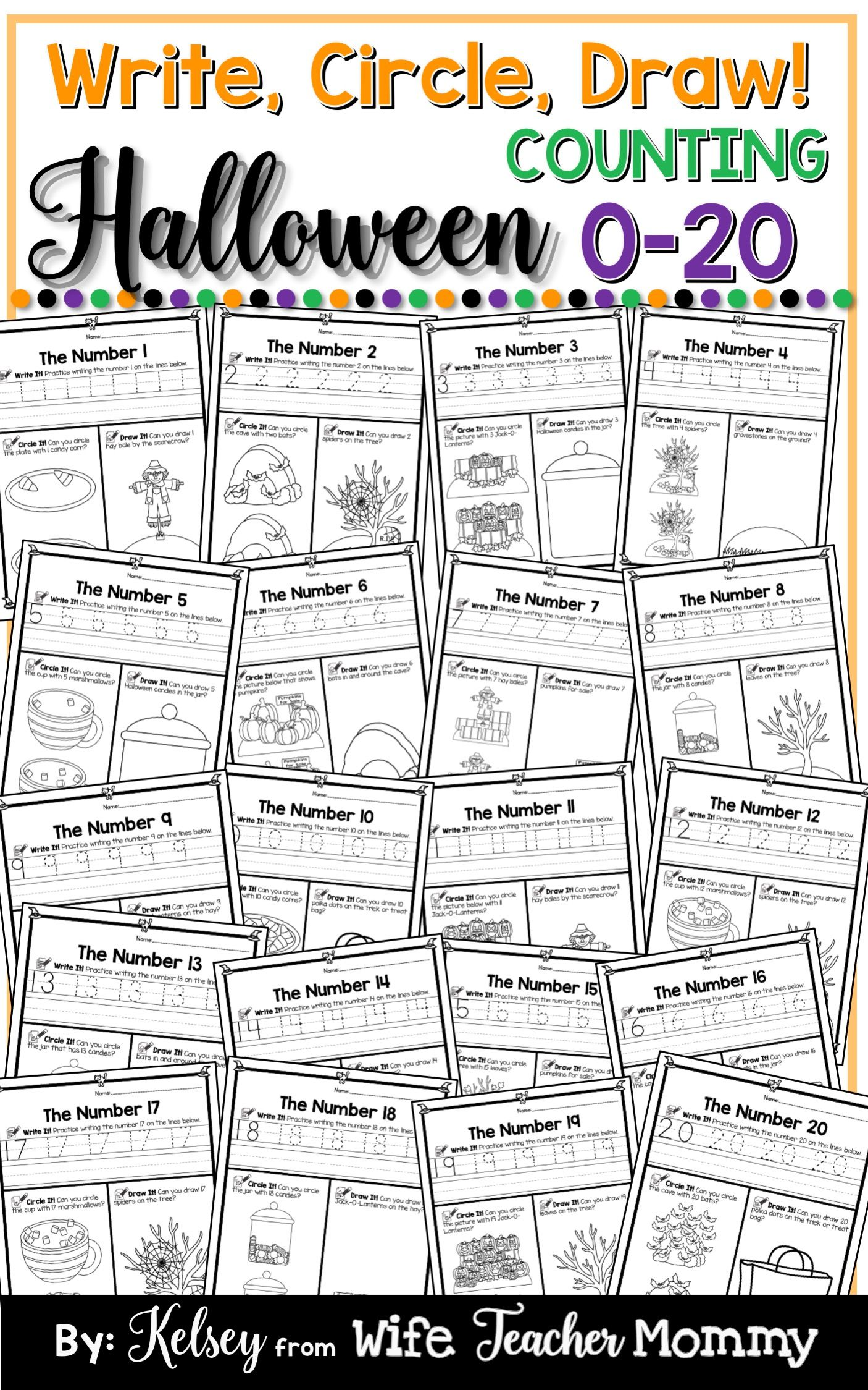 18 Best Halloween Tracing Worksheets Images On Best