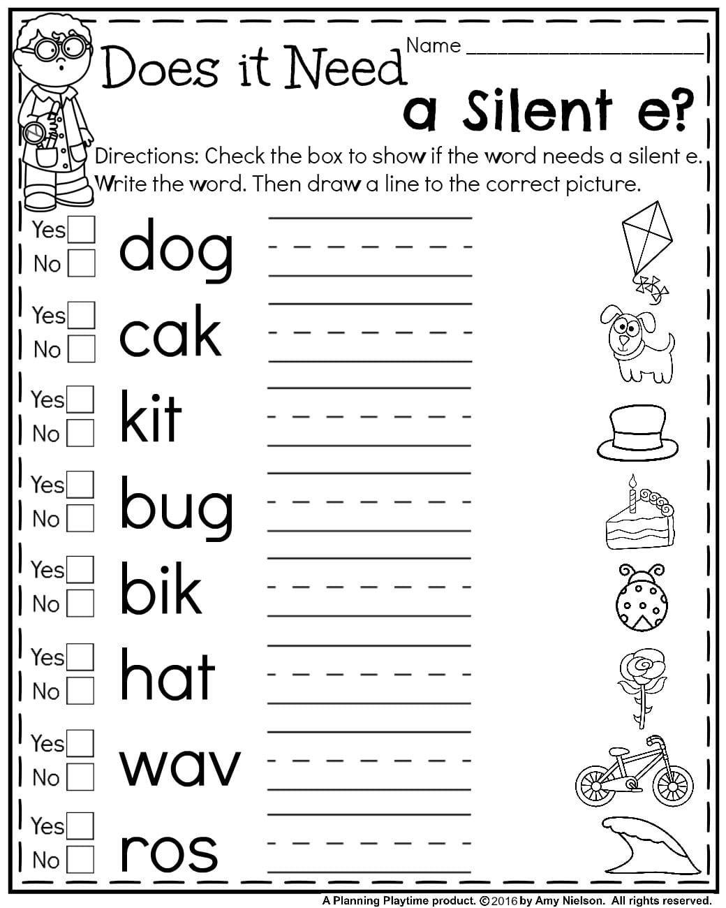 19 Best 1st Grade Worksheets Images On Best Worksheets