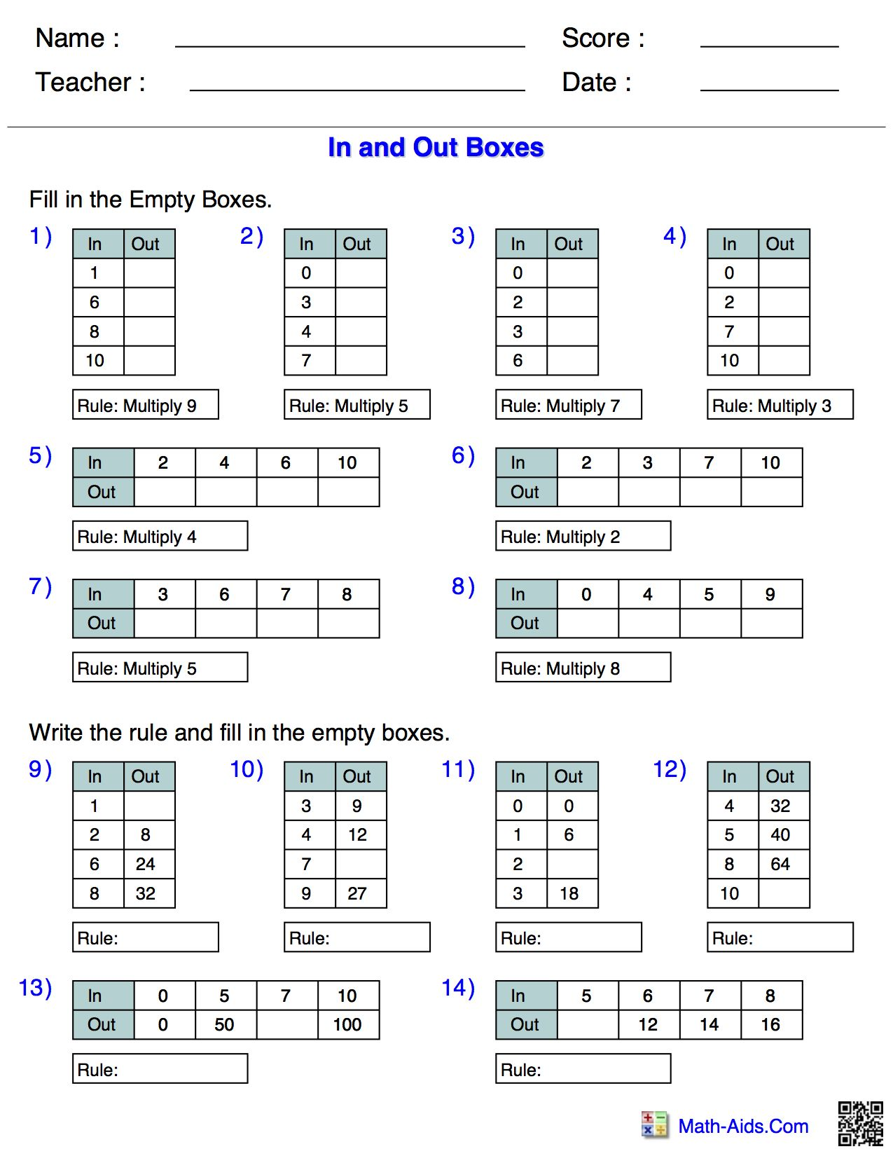 20 Best 6th Grade Math Worksheets Printable Images On Best