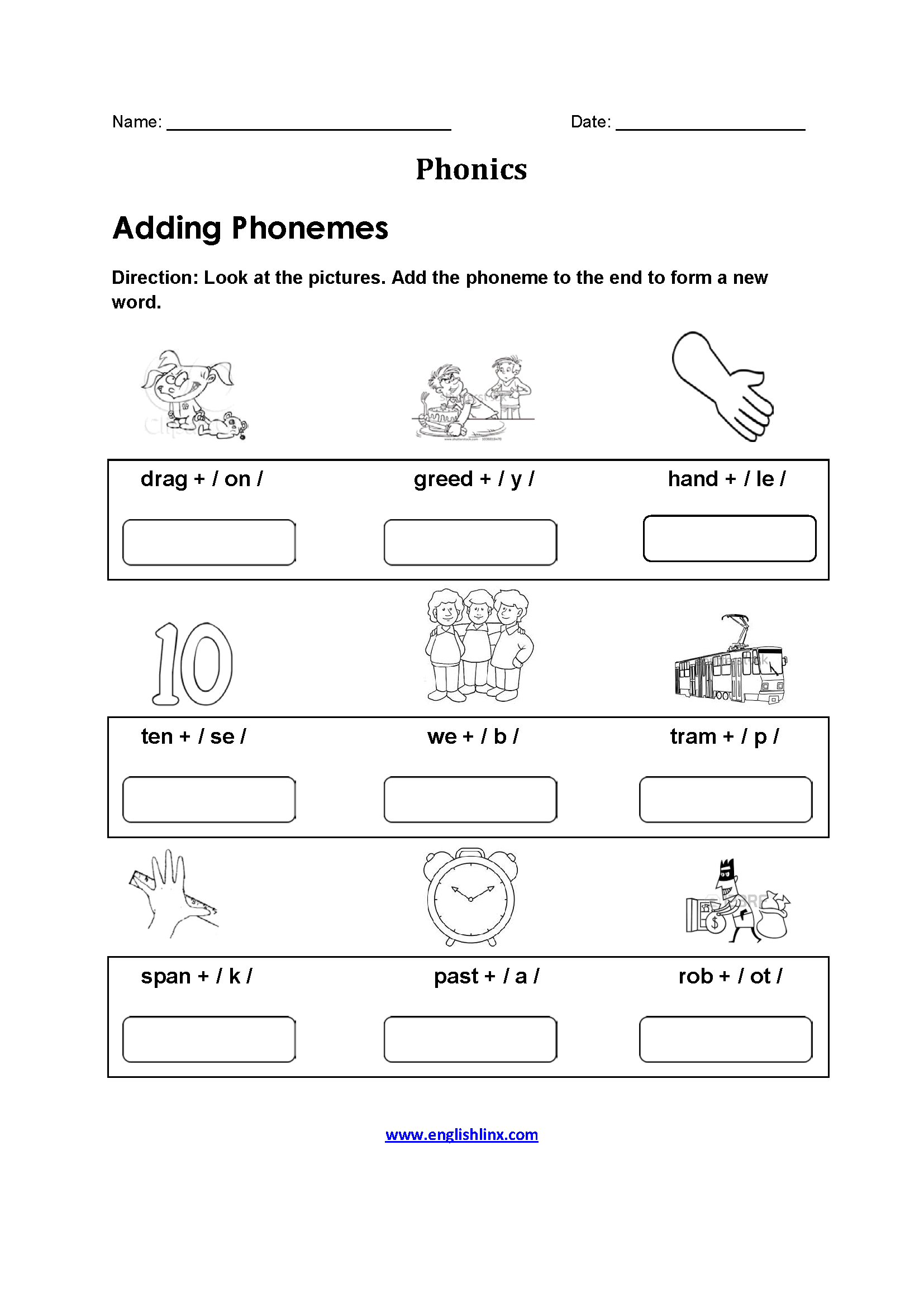 18 Best Phonics Worksheets Images On Best Worksheets