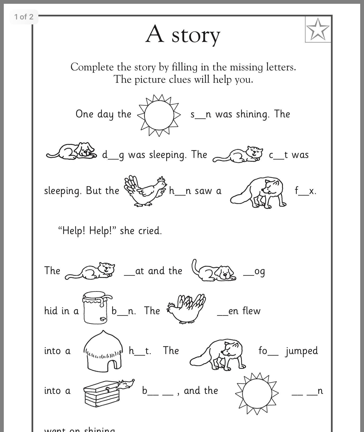 16 Best 1st Grade Spelling Worksheets Images On Best