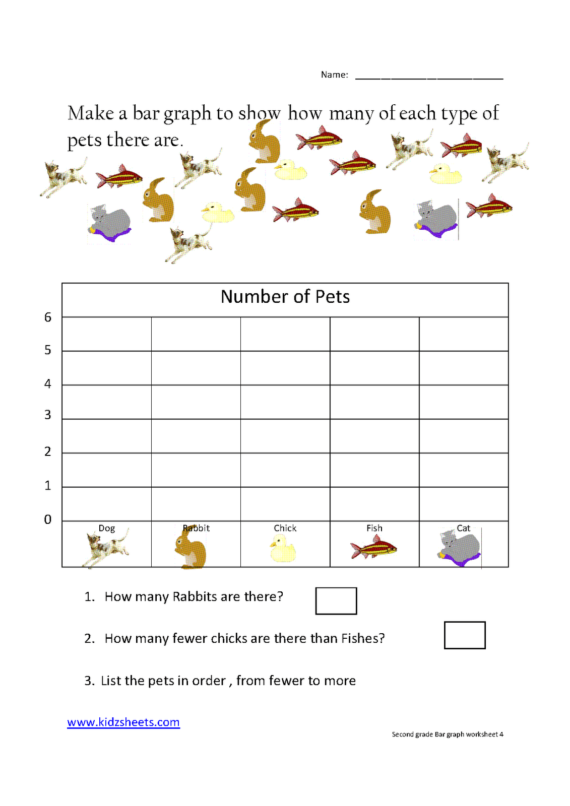 Graph Worksheets First Grade