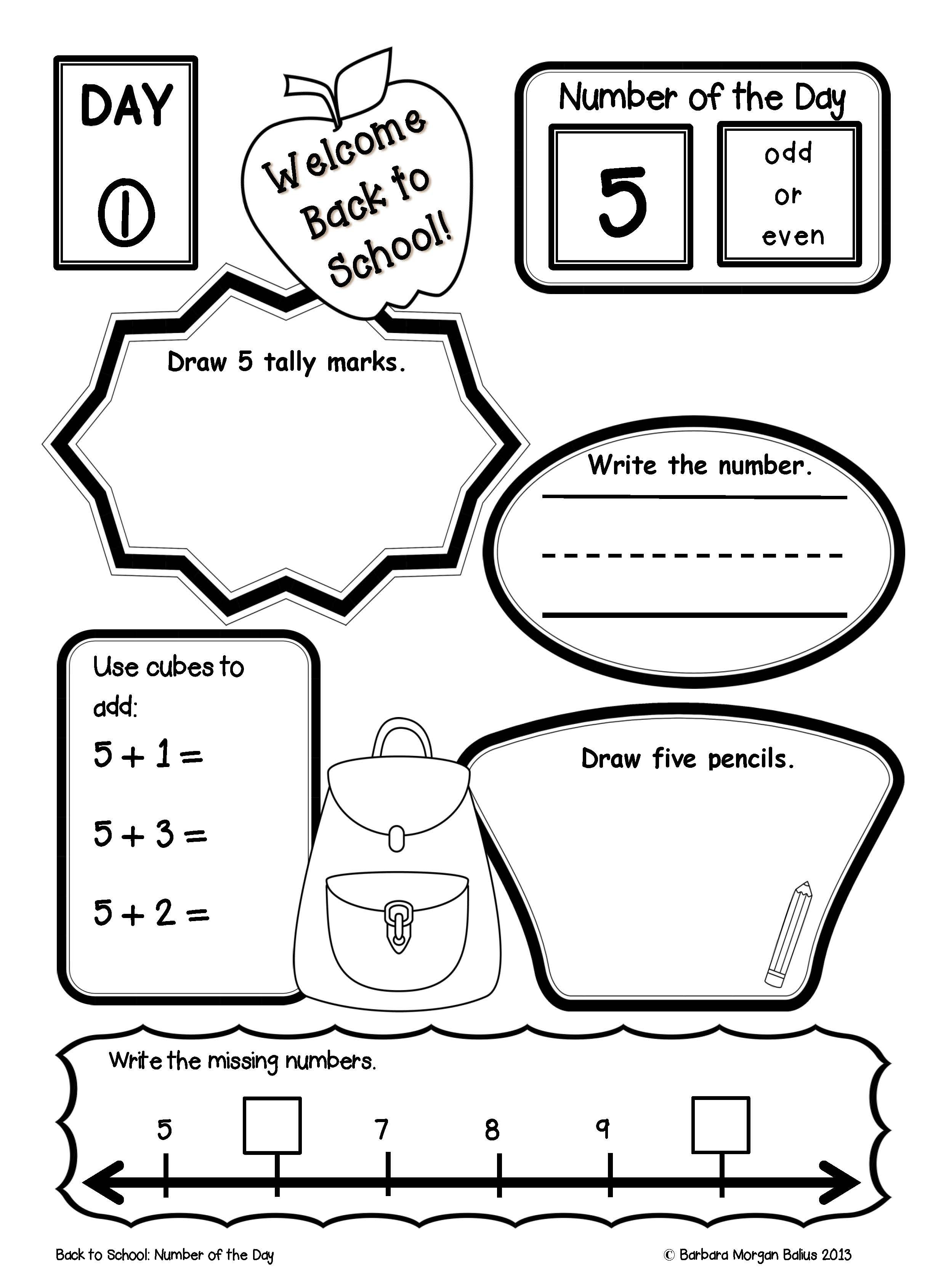 Free Printable Handwriting Worksheets Including Pre