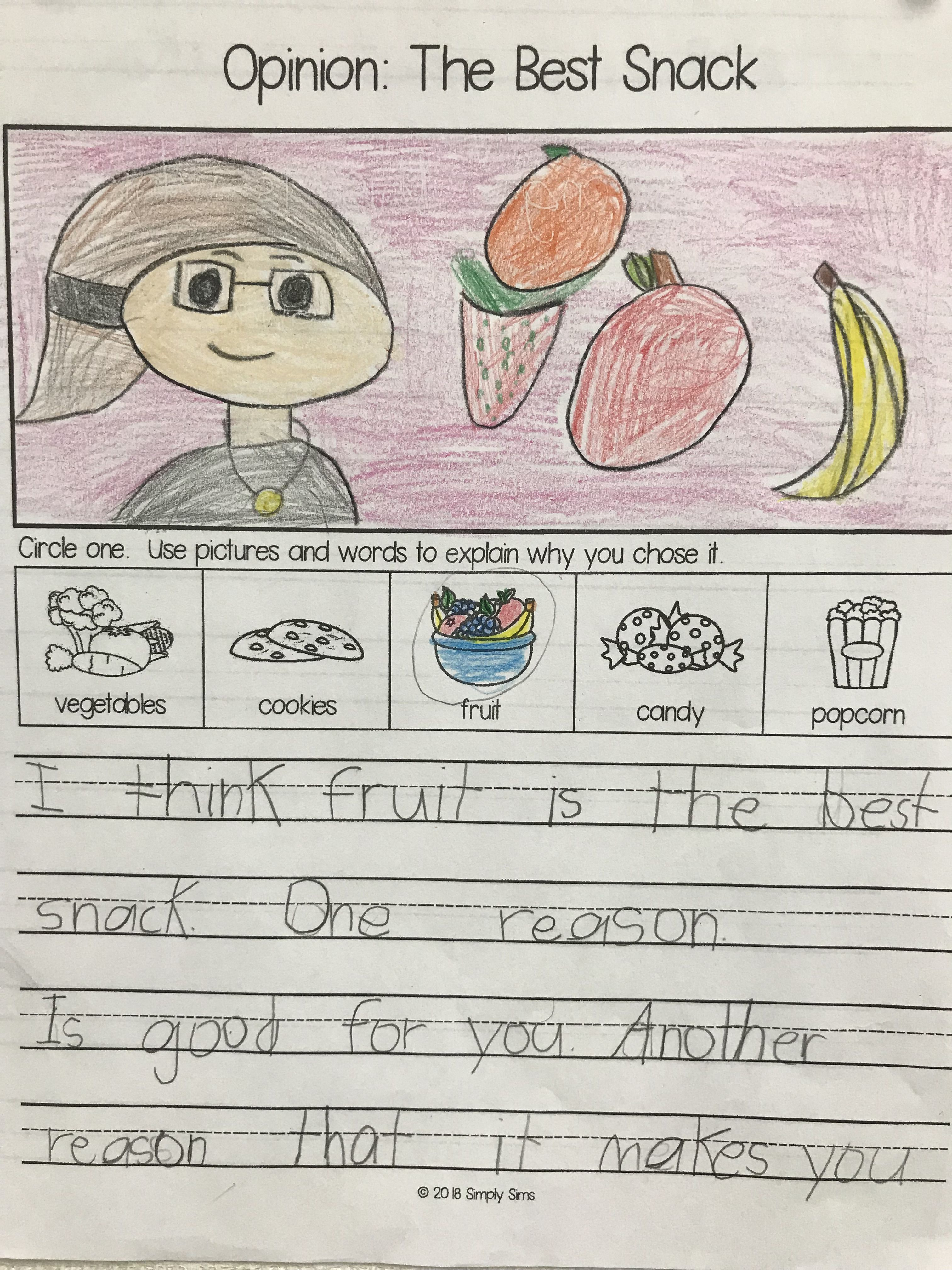 8 Best Opinion Writing 1st Grade Worksheets Images On Best