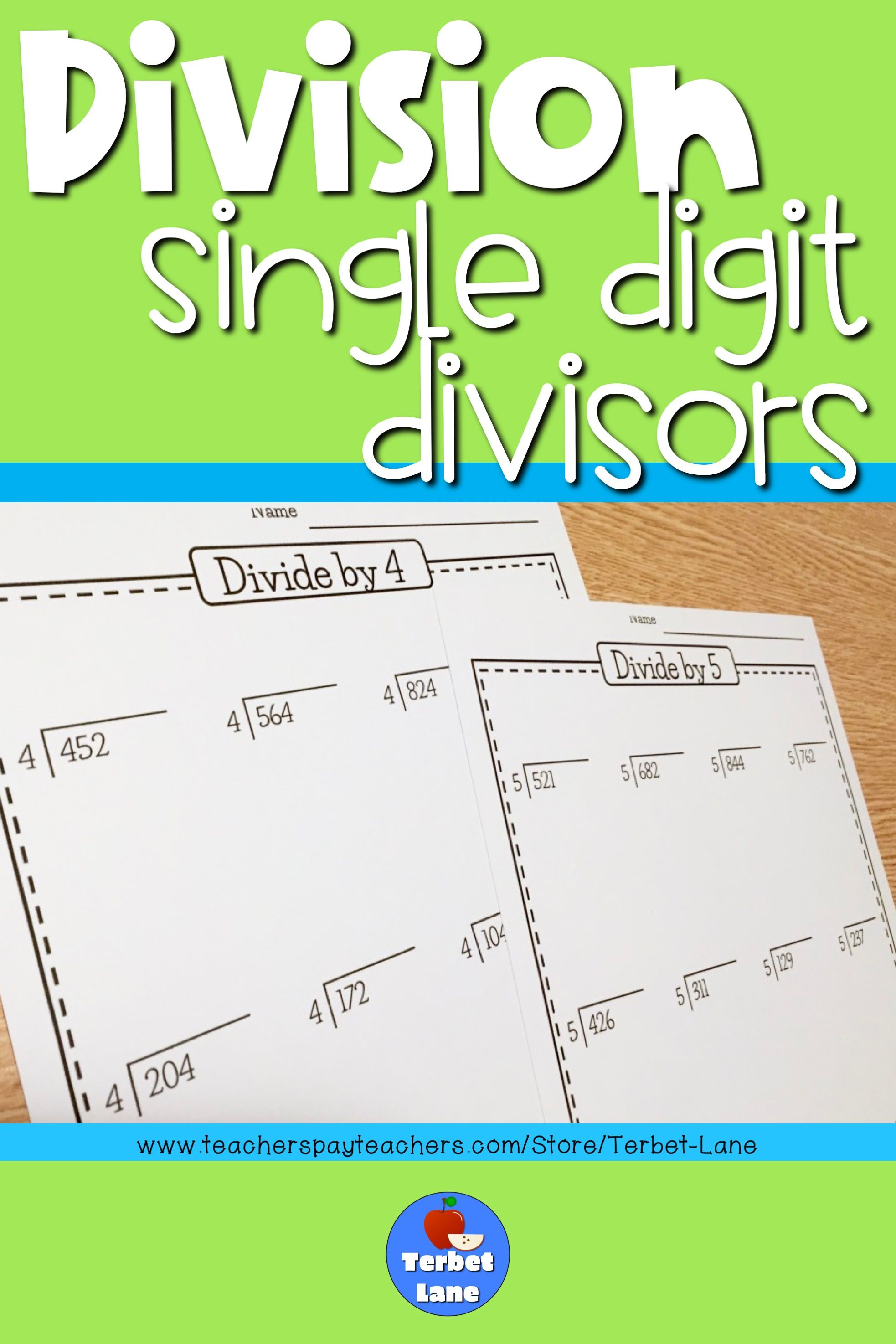 12 Best 4th Grade Division Worksheets With Answers Images