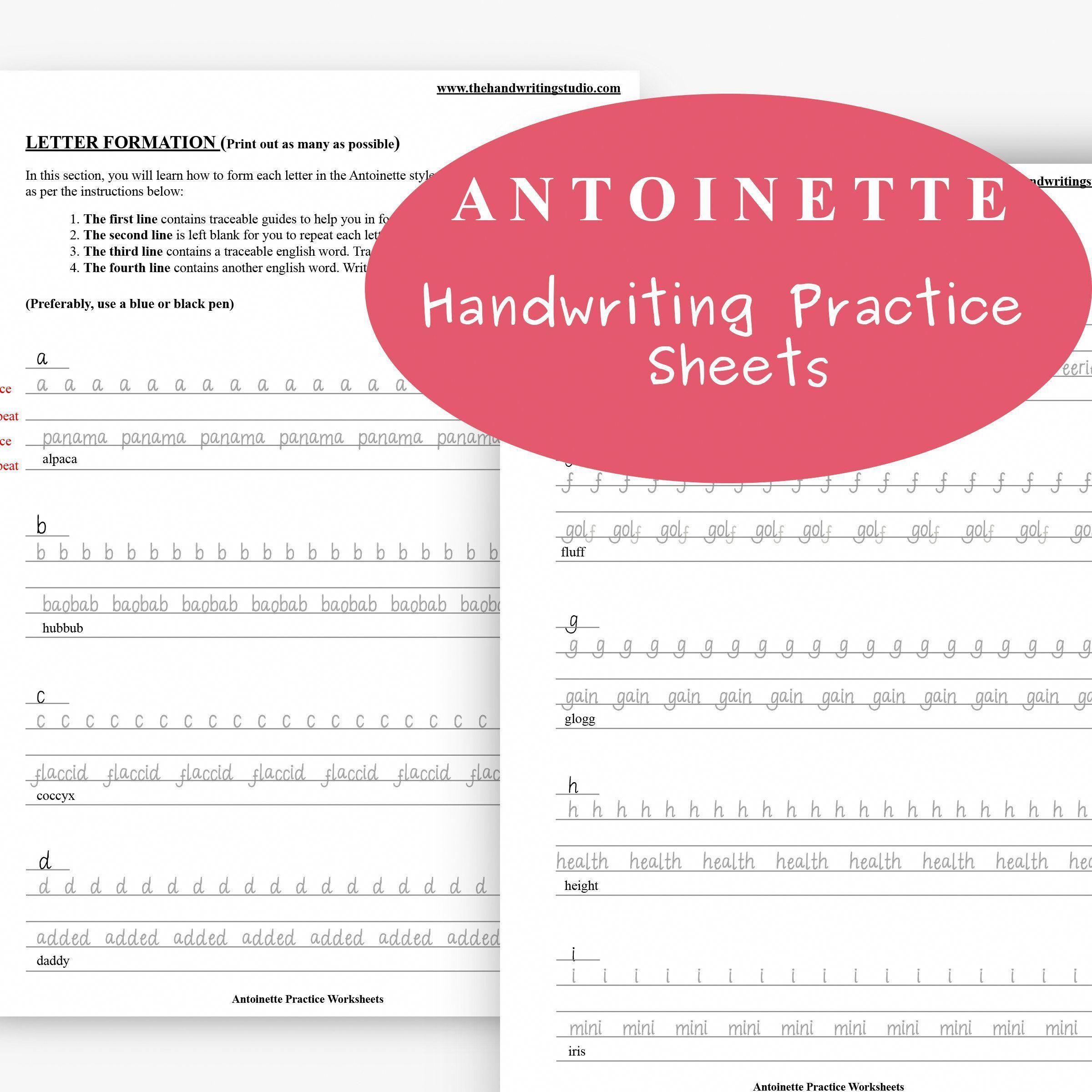 12 Best Printable Blank Cursive Writing Worksheets Images