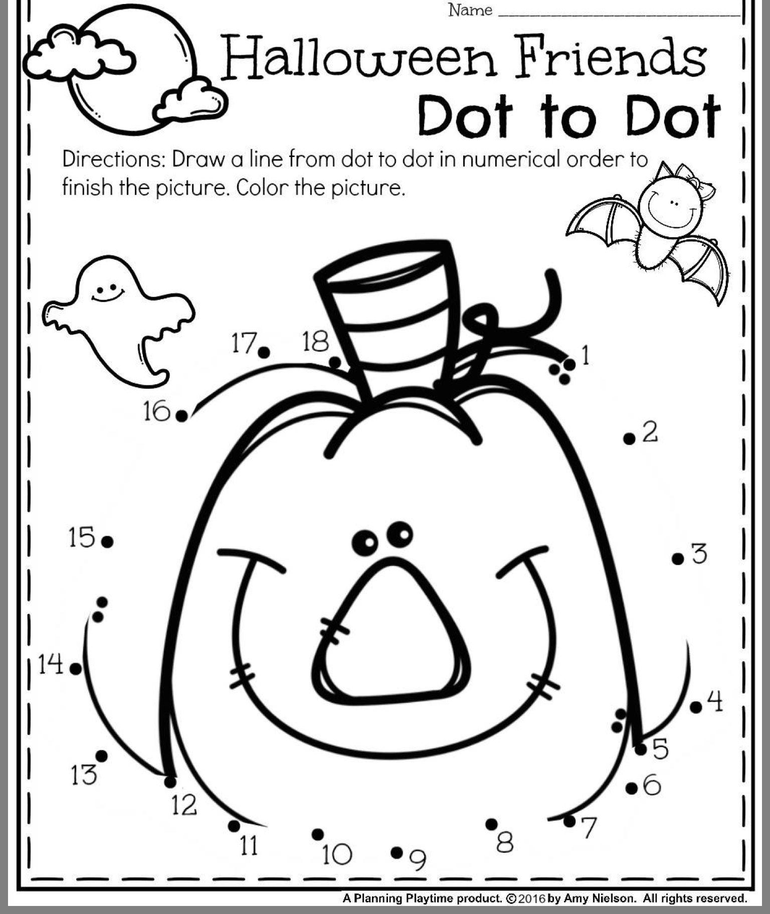 9 Best Kindergarten Halloween Counting Worksheets Images