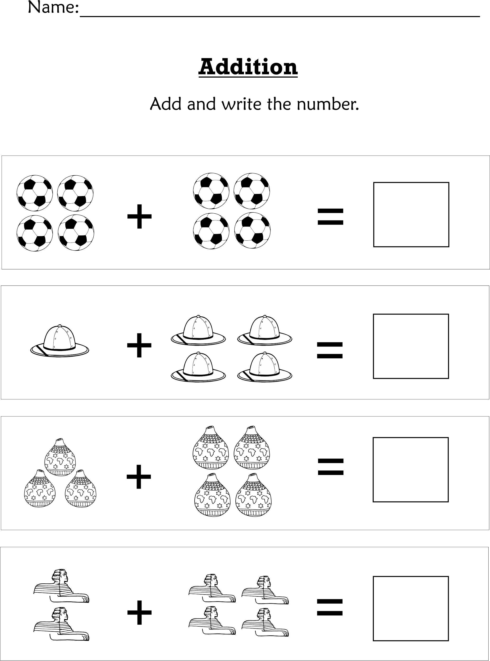 Mathematics Pre K K Pack