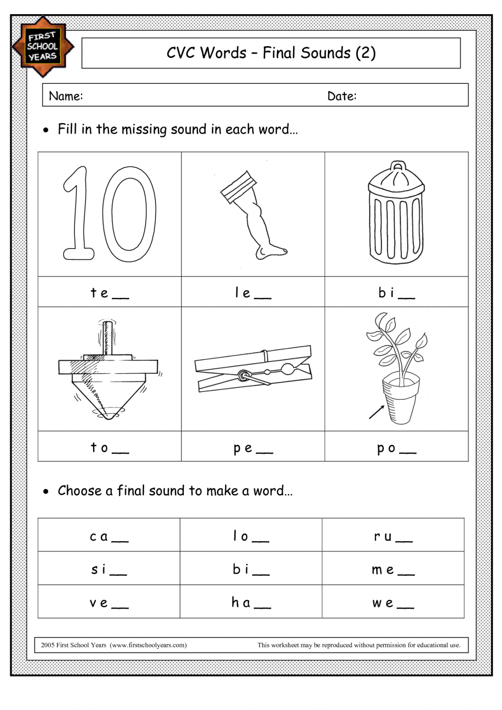 Titles Writing Worksheet Wednesday